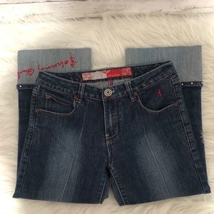 Johnny Girl Cropped Jeans Size 10/11